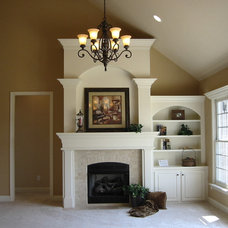 Traditional Family Room by Buckland Construction, Inc.