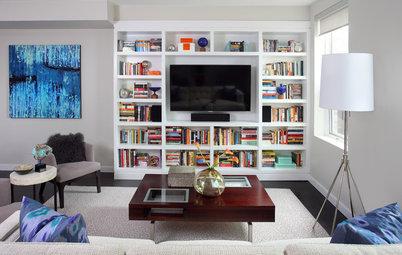Lös ett av hemmets stora inredningsproblem: Vad ska vi göra med TV:n?