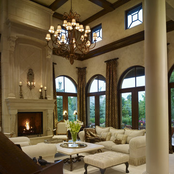 Buell Mansion - Old World Stone Mantels and Fireplaces