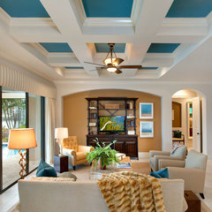 traditional living room by Julians Interiors