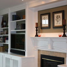 Traditional Family Room by OasisDesign&Remodeling