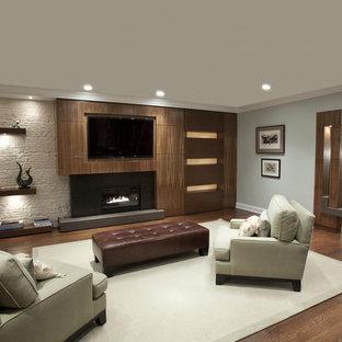 built in/ living room