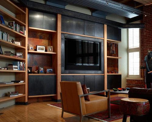 top 30 modern family room ideas & photos | houzz