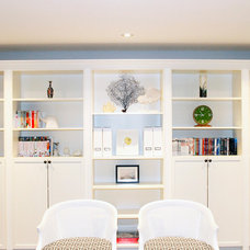 Contemporary Family Room by AM Dolce Vita