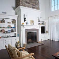 Traditional Family Room by East End Country Kitchens