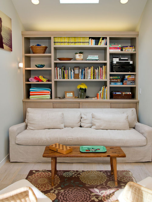 Small den houzz for Den living room designs