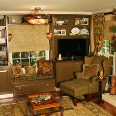 Traditional Family Room by John Rogers Renovations, Inc.