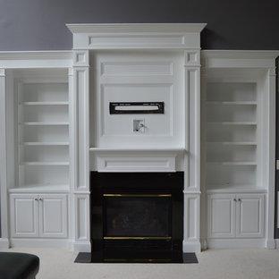 Built-Ins & Fireplace Mantel Feature