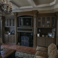 Traditional Family Room by Cabinets Of Atlanta Inc.