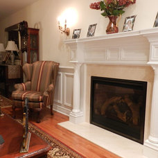 Traditional Family Room by The Mantel Shoppe