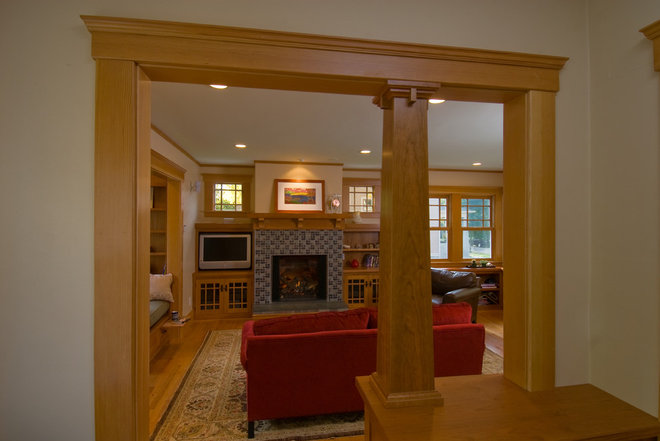 Traditional Family Room by Studio Z Architecture