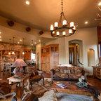 Arizona Ranch Southwestern Family Room Phoenix By