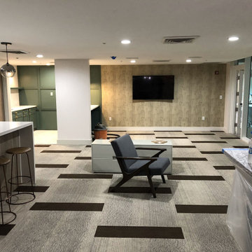 Business Lounge Kitchen