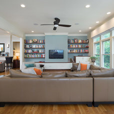 Contemporary Family Room by RDM Architecture