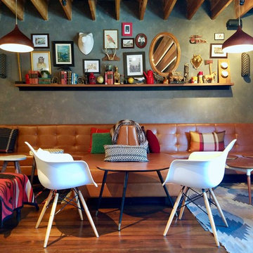 Cabin Chic Dining Area