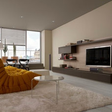 Modern Family Room by Ligne Roset