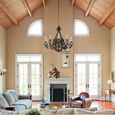 Traditional Family Room by Brenda Liu Photography