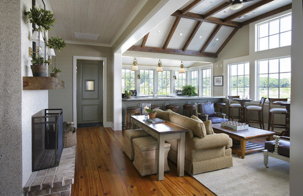 Traditional Family Room by KS McRorie Interior Design