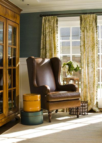 Traditional Family Room by Jana Happel Interior Design