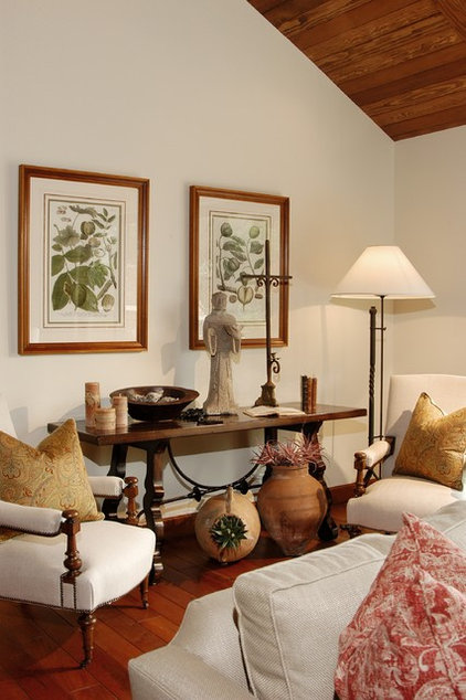 eclectic family room by DTM INTERIORS