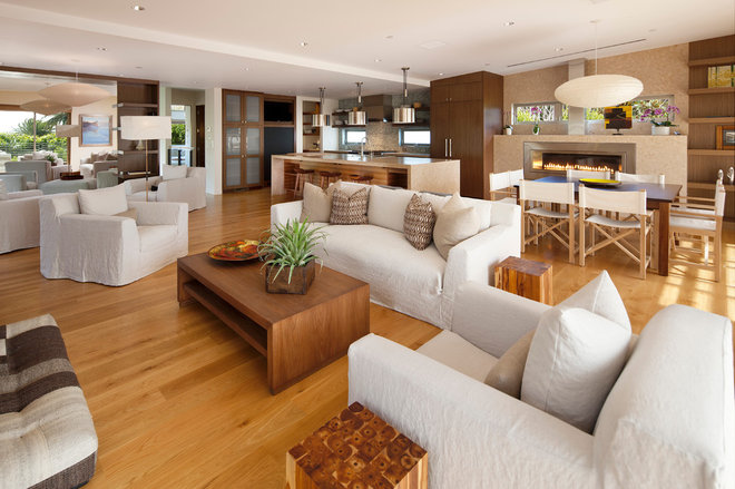 Contemporary Family Room by Maienza - Wilson Interior Design + Architecture