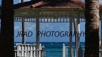 CALMING BEACH SCENES--Gazebo On The Beach