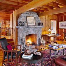 Traditional Family Room by Whitten Architects