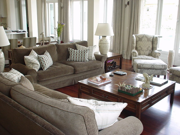 Traditional Family Room by Andrew Frost Interiors
