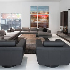 Modern Family Room by mohment