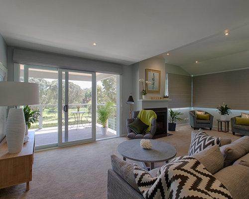 photos et id es d co de pi ces vivre bord de mer avec. Black Bedroom Furniture Sets. Home Design Ideas