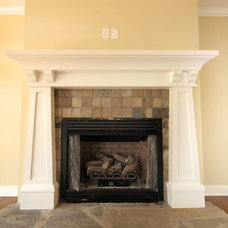 Traditional Family Room by Southgate Residential, LLC