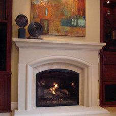 Traditional Family Room by Fireside Design Center