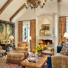 Traditional Family Room by Linda L. Floyd, Inc., Interior Design