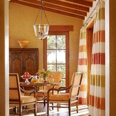 Mediterranean Family Room by Schippmann Design