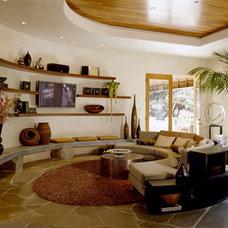Family Room by Benning Design Associates
