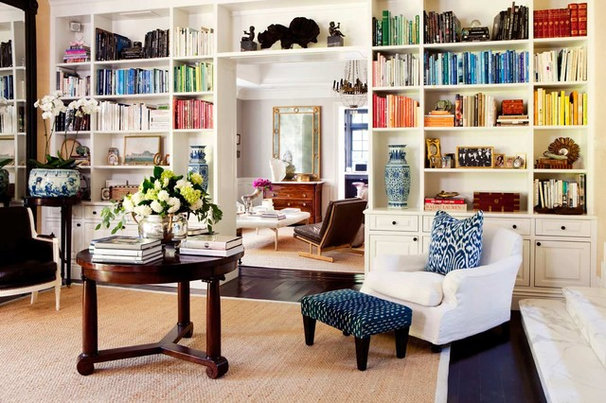 Traditional Family Room by Carol Vaughan-Davis