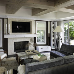 contemporary family room by Billy Blanco Designs