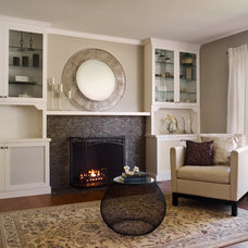 Contemporary Family Room by Case Design/Remodeling San Jose