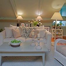 Traditional Family Room by Case Design/Remodeling, Inc.