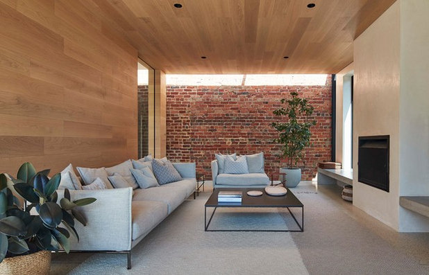 Contemporary Family Room by RBA Architects and Conservation Consultants