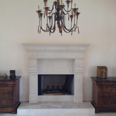 Mediterranean Family Room by Southern Stone Crafters LLC