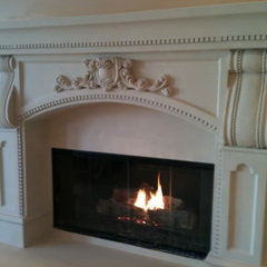 mediterranean family room by Mantels Direct San Diego