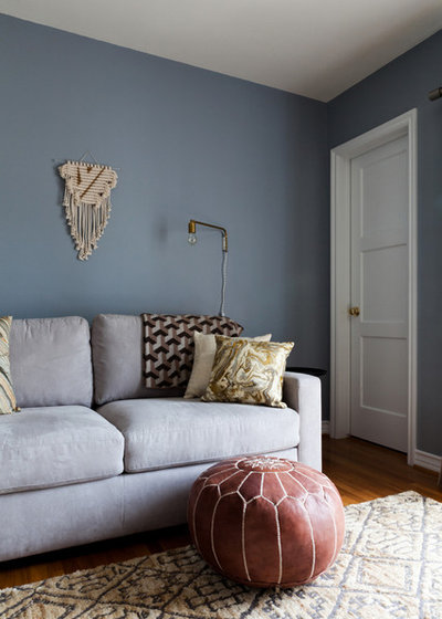 Contemporary Family Room by Natalie Myers