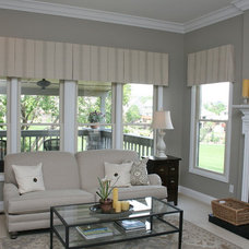Contemporary Family Room by Finishing Touches