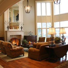 Traditional Family Room by Schill Architecture LLC