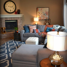 Traditional Family Room by Fluff Interior Design