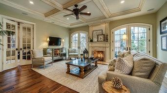 Casually Elegant Family Room