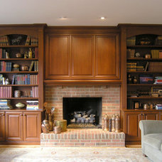 Traditional Family Room by Cameo Kitchens, Inc.