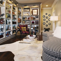 contemporary family room by Catherine Dolen & Associates