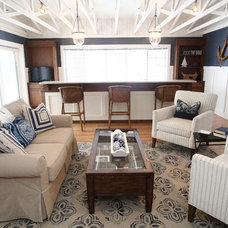 Traditional Family Room by Stonebreaker Builders & Remodelers